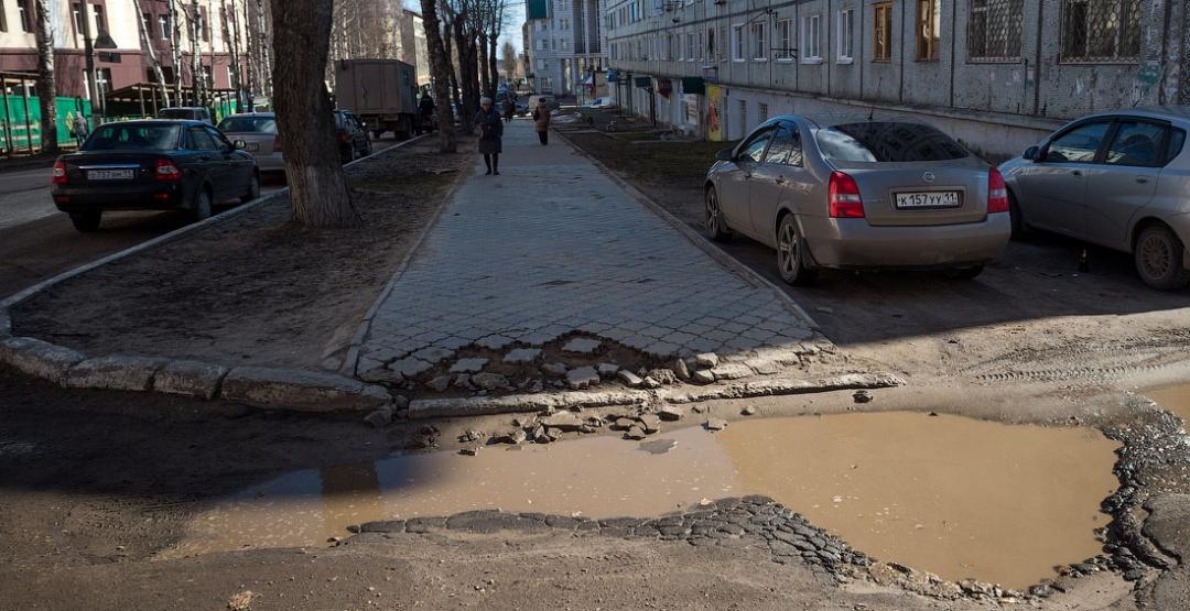 Фото Россия, дороги, карта