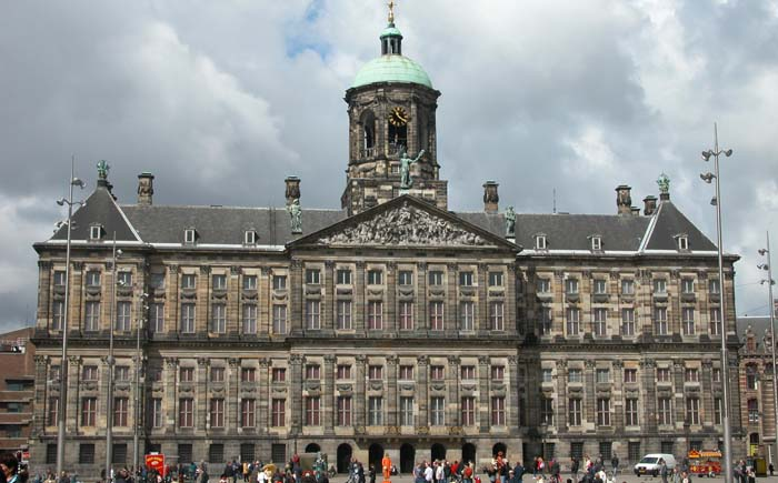 Королевский дворец, Амстердам, Голландия