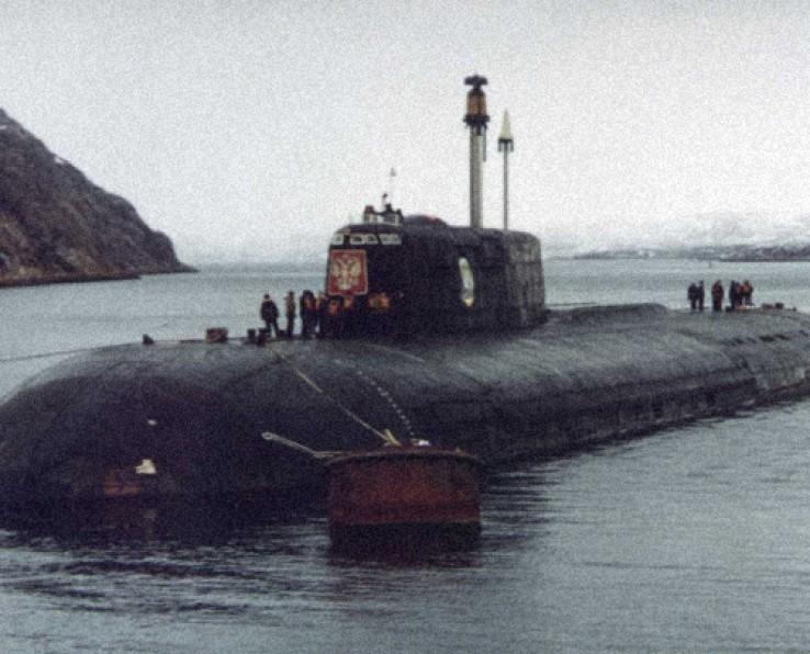 Гибель подводной лодки Курск