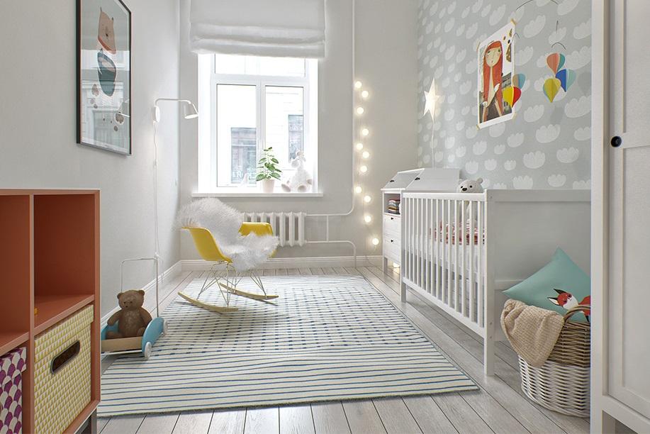 Decoracion habitacion bebe unisex
