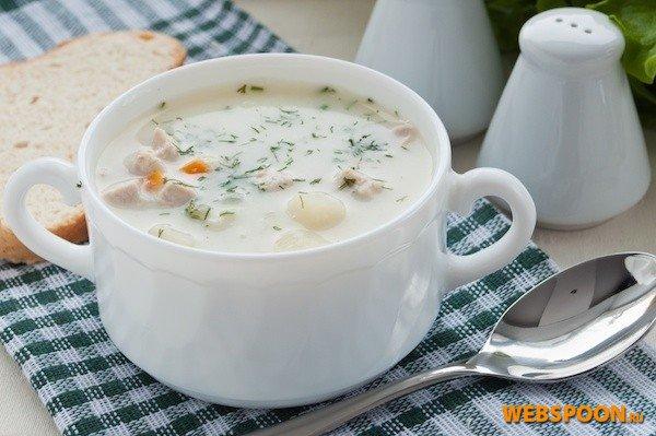 быстрый суп с плавленным сыром рецепт