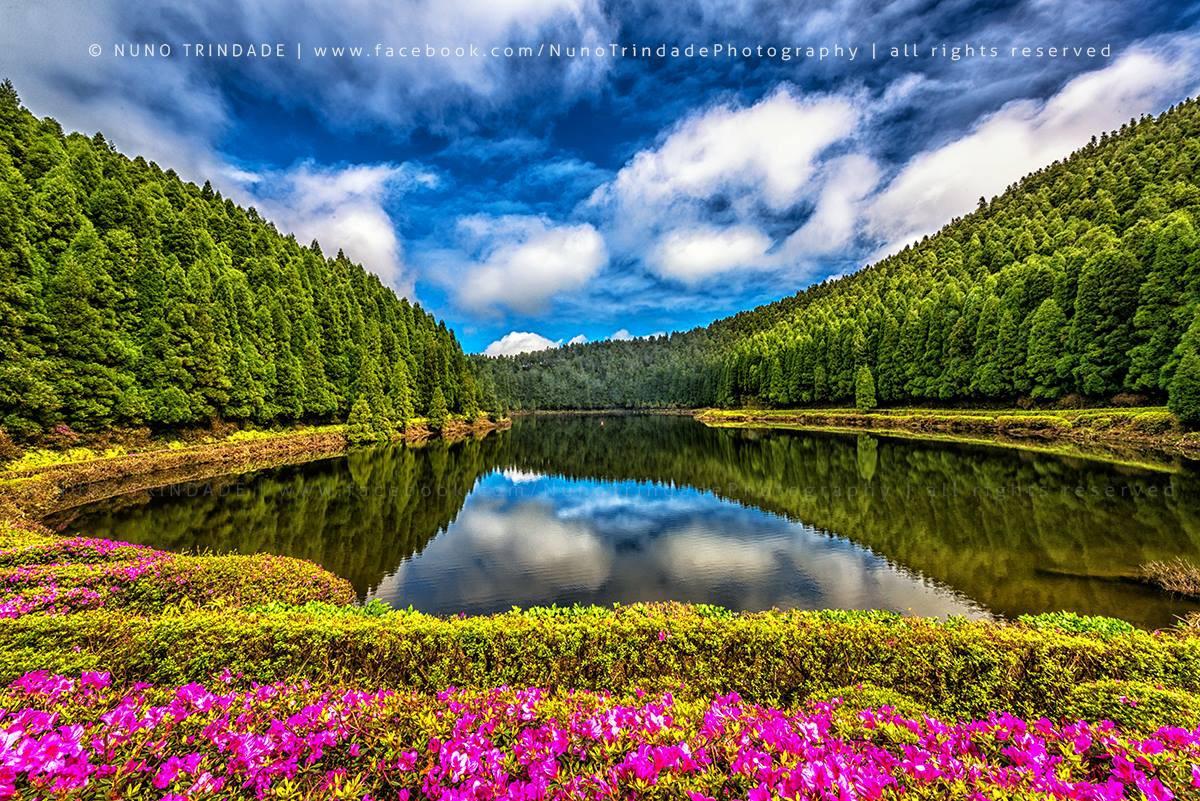 Lagoa das Empadadas красота, озера, природа