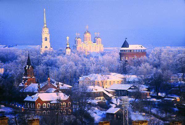 Церкви и памятники города Владимира