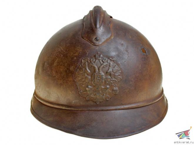 Отечественные «стальные шапки» начала XX века