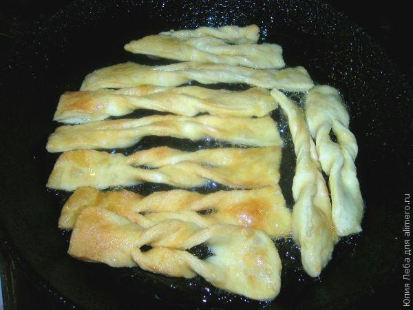 Хворост на минералке рецепт с фото