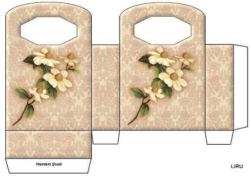 Шаблоны упаковка для подарков