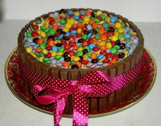 Как самому сделать красивые торты 847