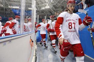 Российские хоккеисты уступили сборной Словакии в стартовом матче на ОИ