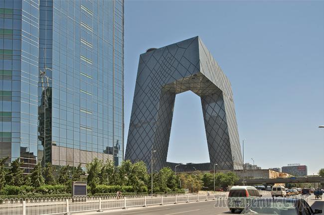 Необычная архитектура...