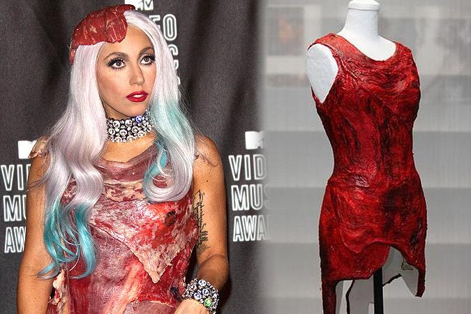 Леди Гага Костюм Из Мяса