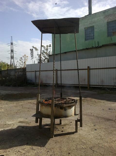 МФУ Луноход (Уличный камин, …