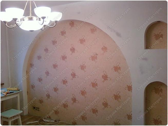 Как сделать арку из гипсокартона в стене своими руками