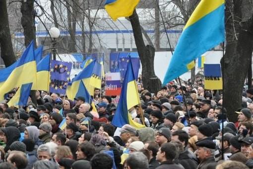 «Народное вече» в Днепропетровске собрало около 1,5 тыс. человек