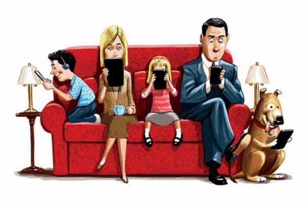 Как интернет семью развалил