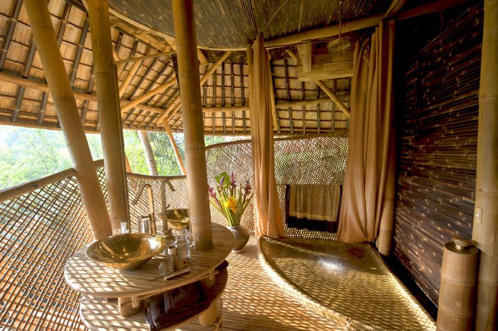 Бамбуковая деревня дизайнера Elora Hardy