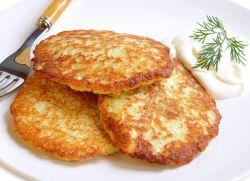 Рецепт драников из картошки с луком.