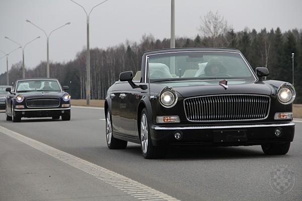 В Беларусь поставили китайские лимузины для парада 9 мая