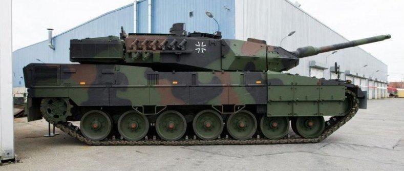 Леопард 2 А7V ренессанс танк…