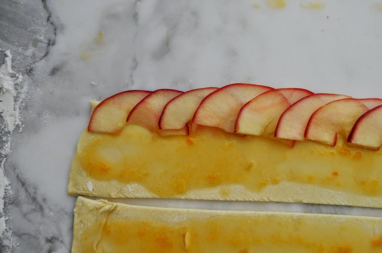 Красивый десерт: Яблочные розы десерт, розы, яблоки