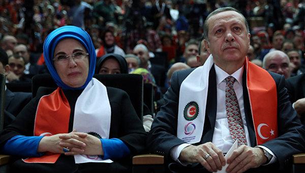 Жена Эрдогана: Гаремы-школа жизни для женщин