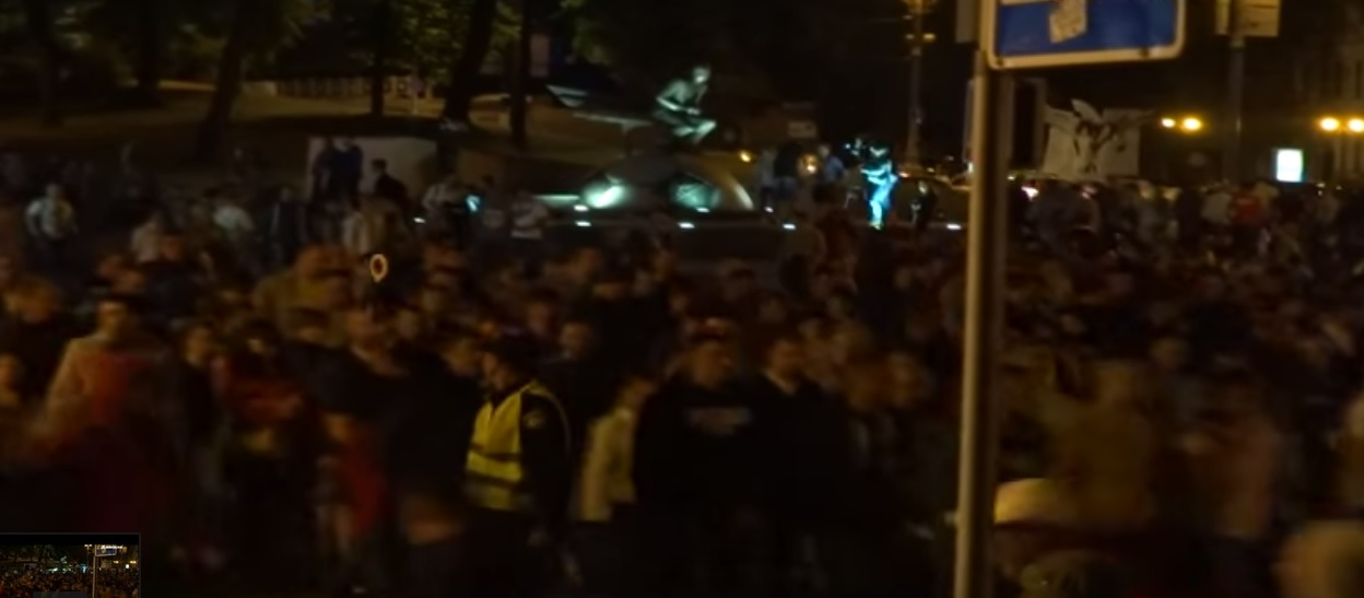 «Слава Путину!» кричали в Киеве после футбола