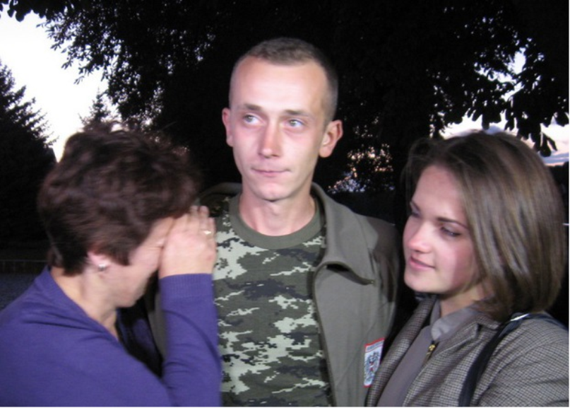 Страдания украинского карателя в Новороссии