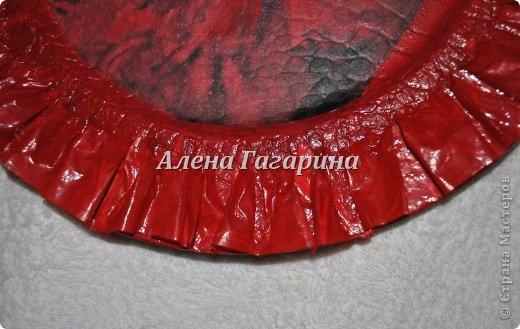 Декор предметов Мастер-класс Декупаж Тарелка Фламенко Бумага фото 18
