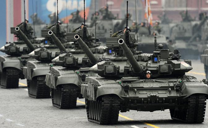Российские танки атакуют украинские в Таиланде