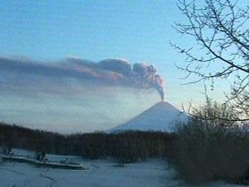 Крупнейший вулкан Евразии: о…