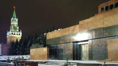 В Москве задержали облившего краской мавзолей Ленина пенсионера из Белоруссии