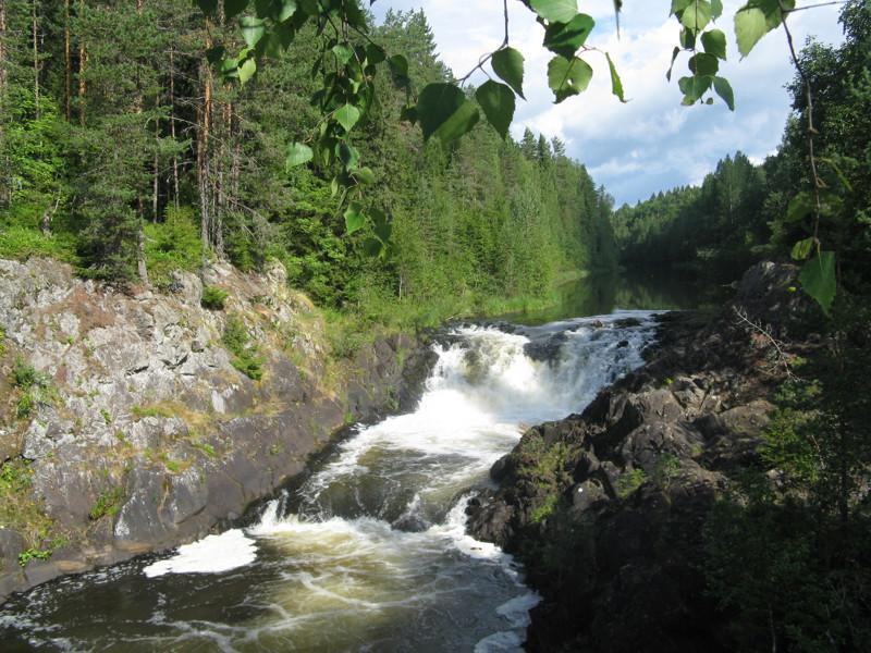 Легенда о водопаде Кивач горы, легенда, озера, реки