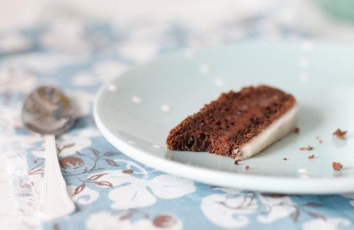 Черемуховый торт с шоколадной начинкой
