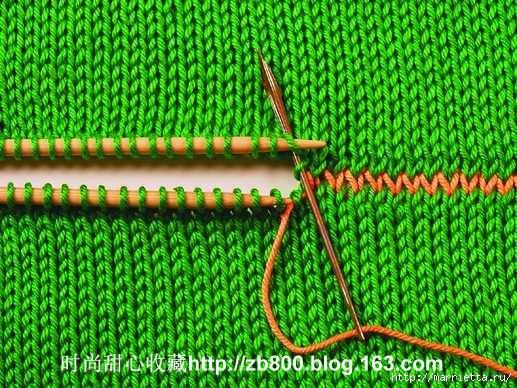 Способы соединения вязаных спицами деталей (13) (517x388, 226Kb)