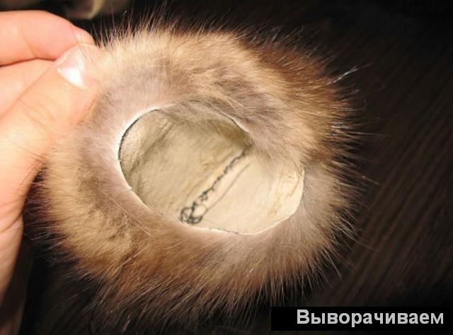 Как сделать меховые наушники своими руками
