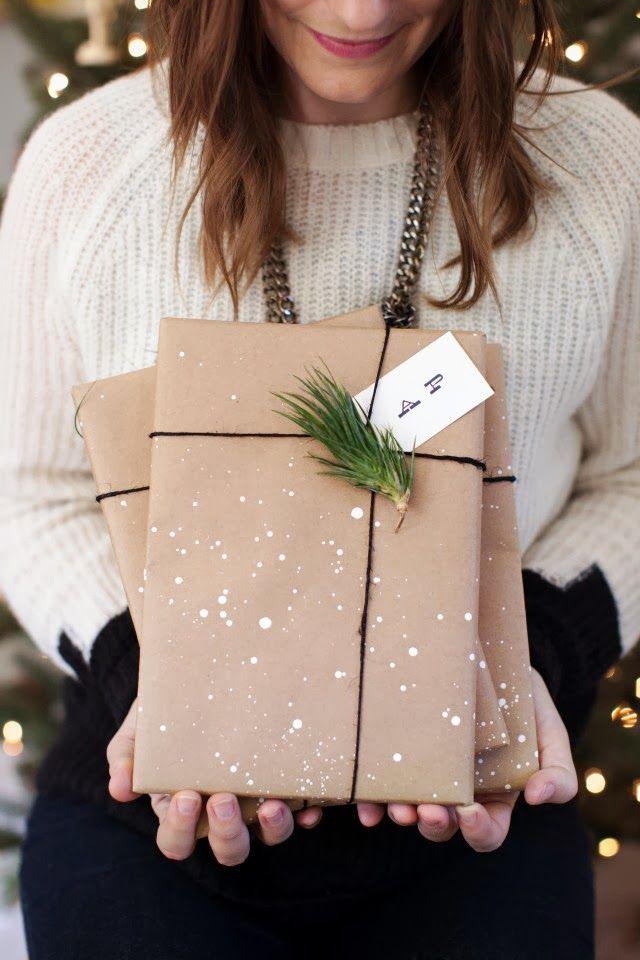 Упаковать подарок своими руками фото
