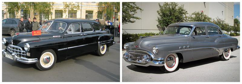 ГАЗ-М-12(1950-1960)-Buick Super(1940-1958) автомобили, история, ссср, факты