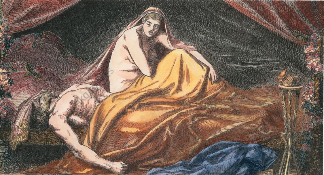 Смерть Аттилы, вождя гуннов, и голая баба (все в живописи, конечно)