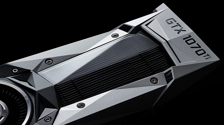 NVIDIA официально представила видеокарту GeForce GTX 1070 Ti