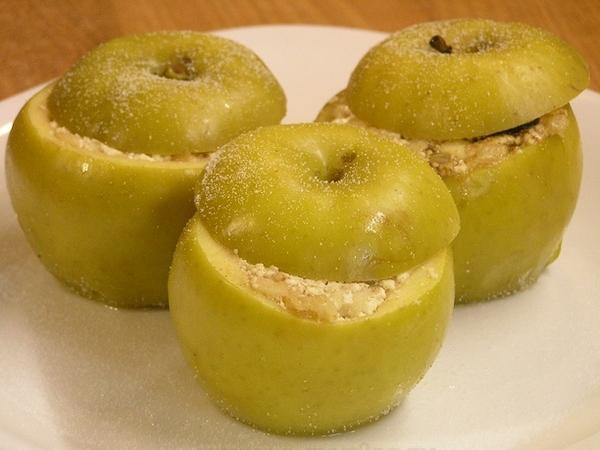 Яблоки запечённые - видео рецепт