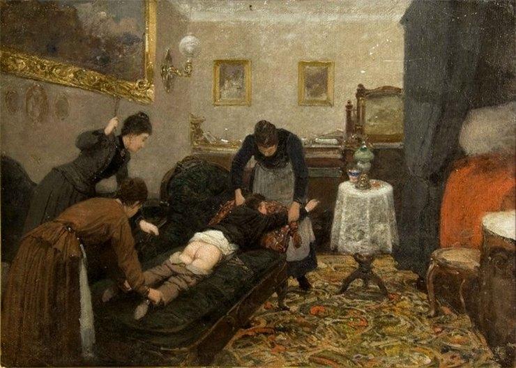 Пьянство, насилие, бордели: запрещенные картины русских художников