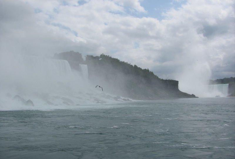Ниагарский водопад. Прогулки и панорамы со стороны канадского берега путешествия, факты, фото