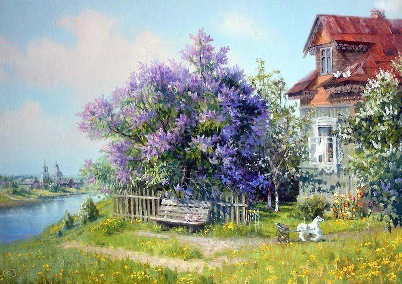 Русский художник Владимир Юрьевич Жданов