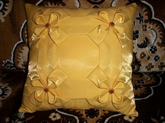 Мк декоративные подушки своими руками