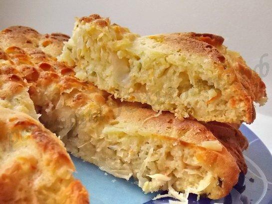 Рецепт капустной шарлотки Рецепты Юльетты