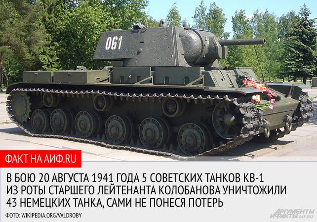 22 подбитых танка за 30 минут боя. Как танкист Колобанов унизил Третий рейх