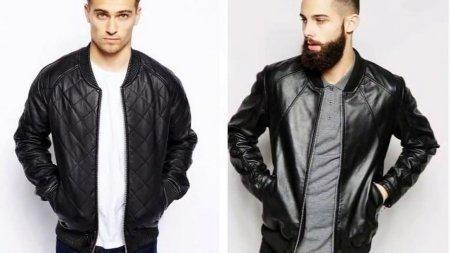 Мужские кожаные куртки - мод…