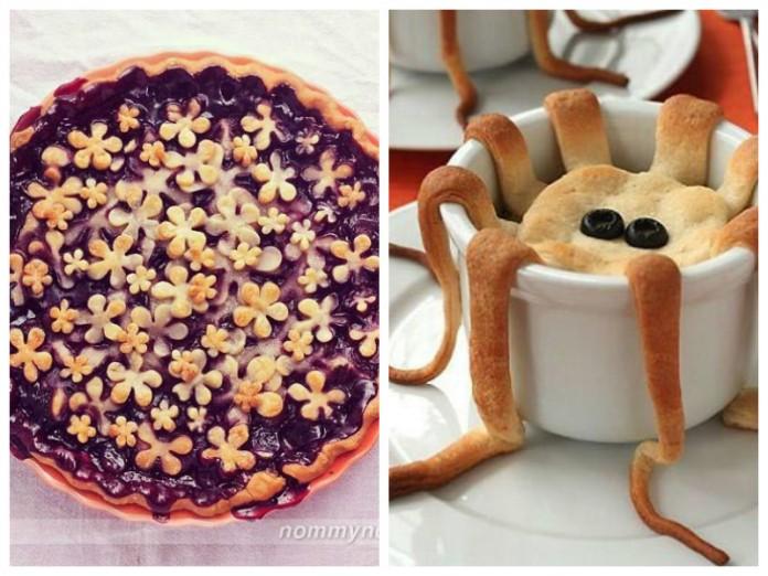 Эти пироги такие красивые и …
