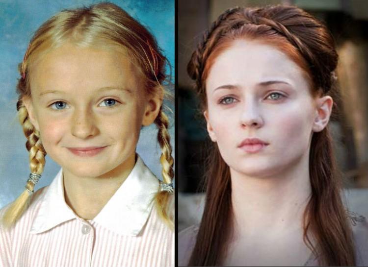 «Игра престолов»: как выглядели актёры популярного сериала в детстве и юности? — Eщё