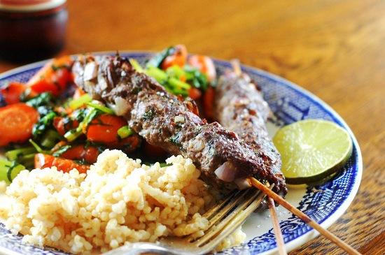 Люля кебаб в духовке: рецепт с фото приготовления в домашних условиях люля кебаба из свинины, курицы, говядины