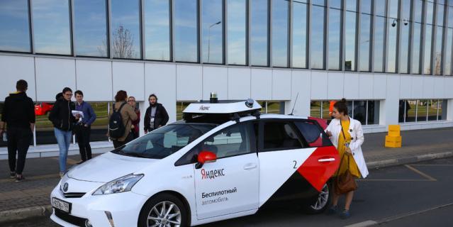 В Москве запустили такси без водителя: репортаж